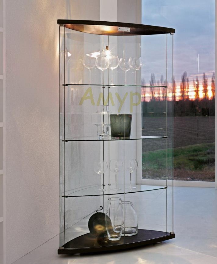 Витрина tonin casa gracia 6430 мебель в гостиную фабрики ton.