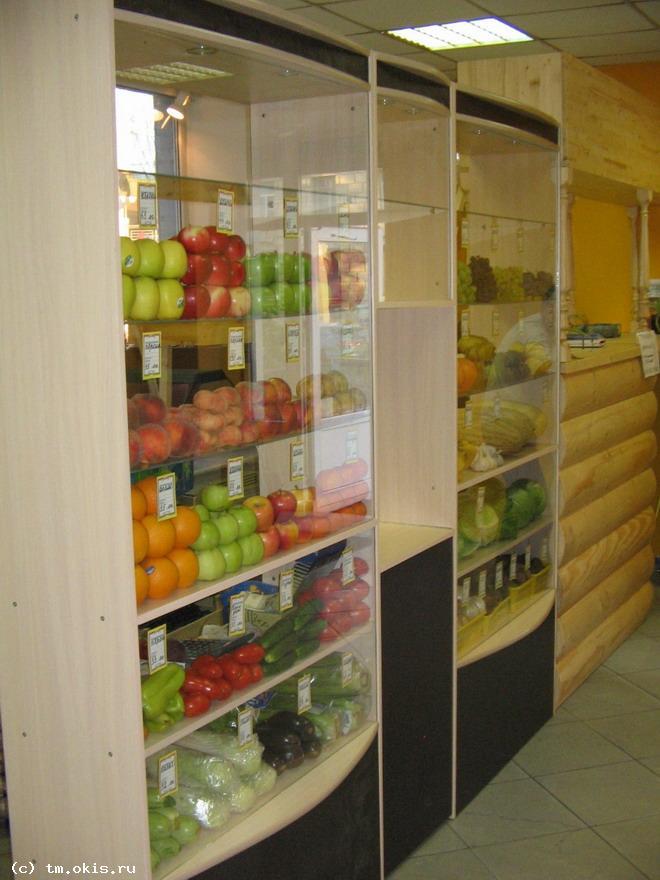 Витрины для овощей и фруктов 67